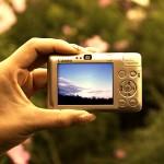 カメラ、肉眼、実物
