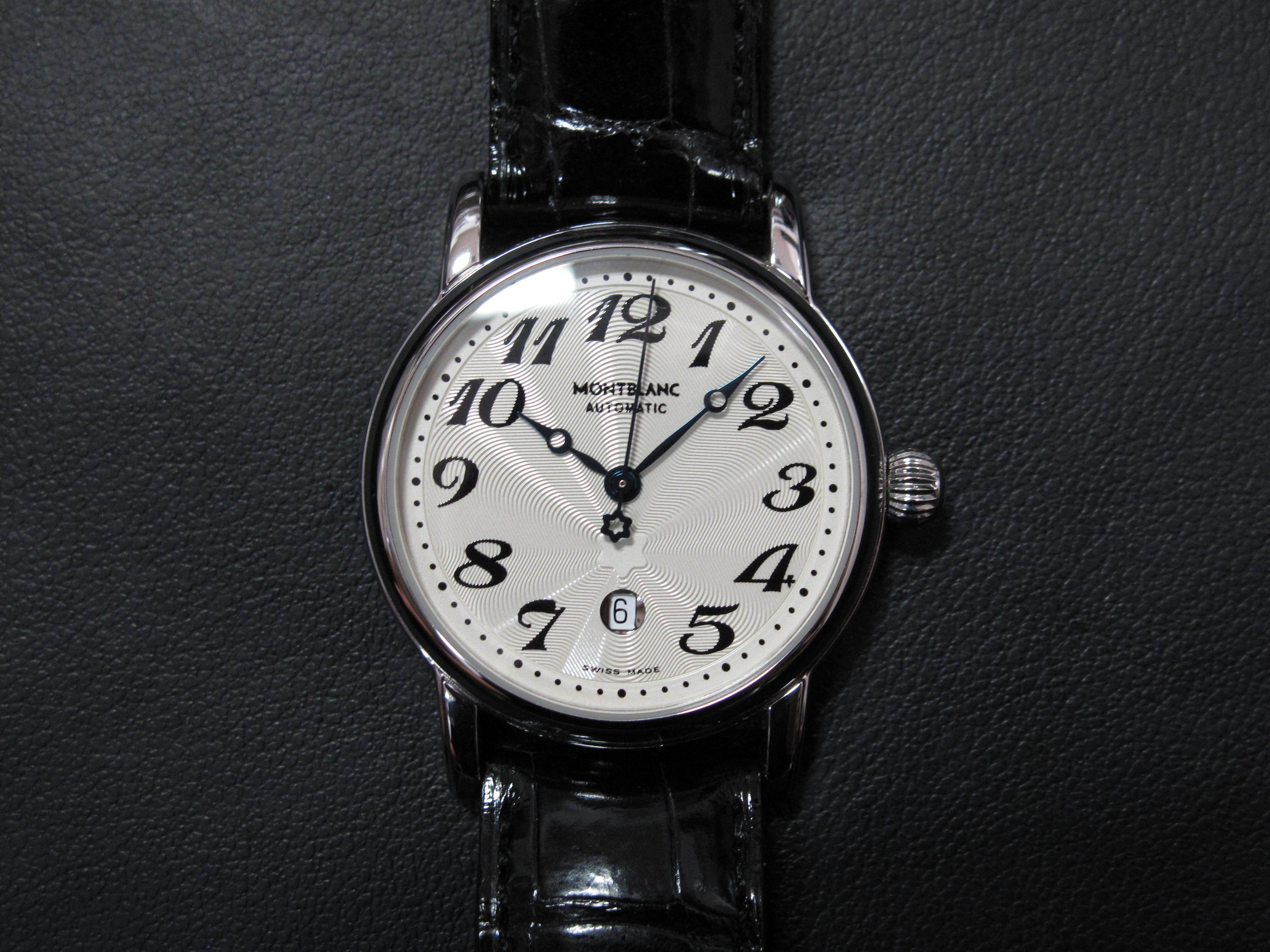 機械式時計モンブラン