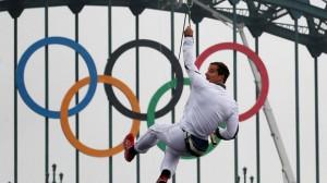 オリンピックの聖火ランナー