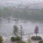 ゲリラ豪雨は危険です