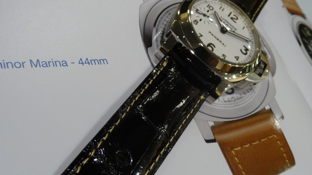 パネライ用ストラップ クロコ PAM00113