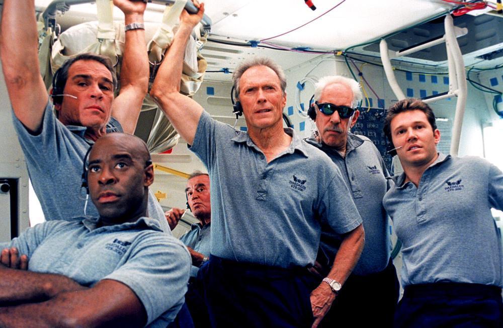 SPACE COWBOYS, Courtney B. Vance, Tommy Lee Jones, James Garner, Clint Eastwood, Donald Sutherland, Loren Dean, 2000, (c) Warner Brothers