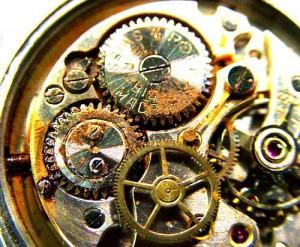 時計内部サビ